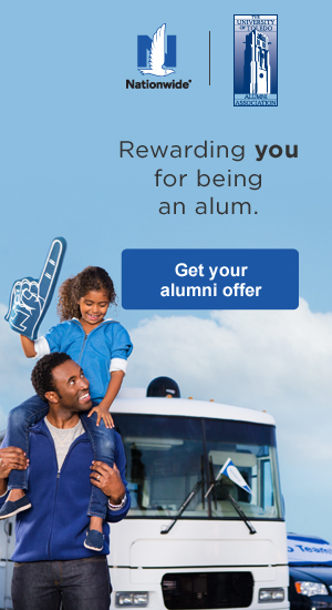 Nationwide: Rewarding you for being an alum. Get your alumni offer here.